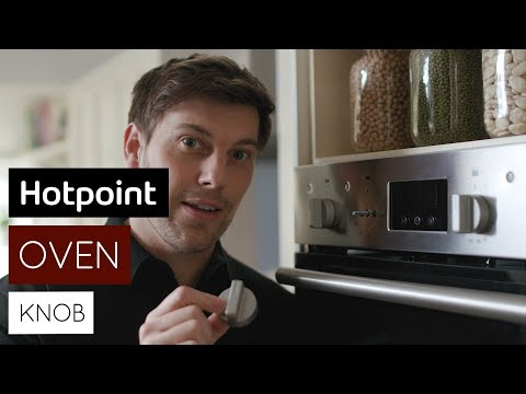 How to replace the oven knobs   by Hotpoint