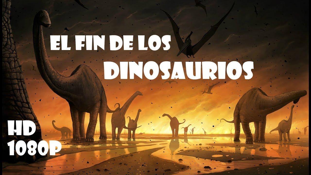 EL FIN DE LOS DINOSAURIOS 2018 - Documental HD 1080p
