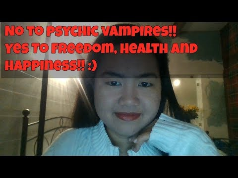 How To Deal With Psychic Vampires (+crystal suggestions)
