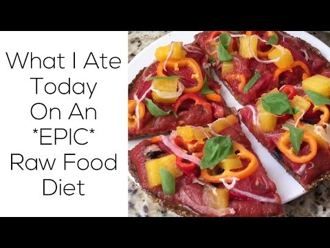 What I Ate Today On An *EPIC* Raw Food Diet