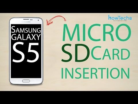 Samsung Galaxy S5 - How to change the memory card