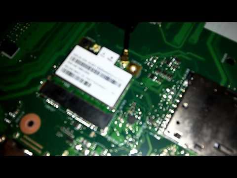 ASUS x551mav TEARDOWN (Hard drive recovery)