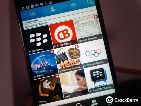 Using BBM 2.0 on Android
