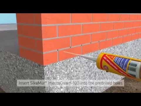 Sika SikaMur Injectable Liquid DPM Damp Proof Membrane