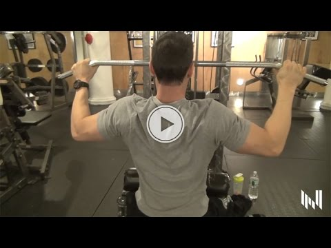 How To Build Your Rhomboids And Upper Back - Muscle Building Back Workout