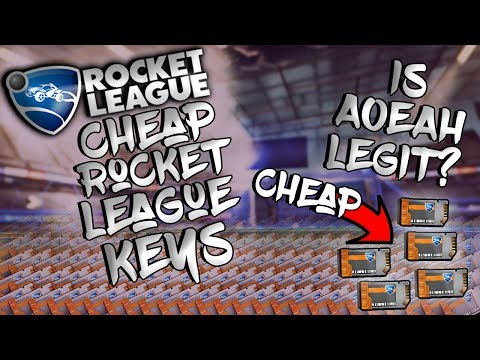 HOW TO GET CHEAP KEYS THAT ARE TRADEABLE ON ROCKET LEAGUE! IS AOEAH LEGIT AND NOT A SCAM?