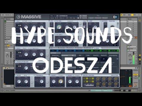 ODESZA Synth Massive Tutorial