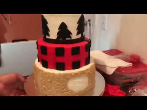 Lumber jack  cake