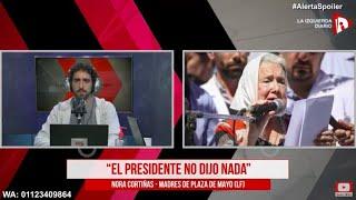 """Nora Cortiñas: """"El caso de Luis Espinoza es muy similar a lo que pasó con Maldonado"""""""