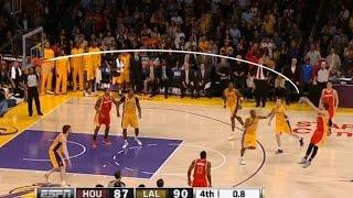"NBA ""Low"" Arcing Shots"