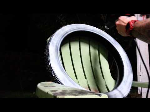 Part 2 how to make a whitewall tire at home..