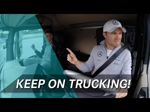Job Swap! Can F1 Drivers handle the Truck Driving Challenge?