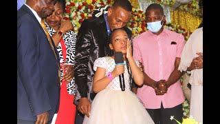 Mjukuu wa Marehemu Bishop Dr  Gertrude Rwakatare aitwae Junior Gertrude Rwakatare awaliza watu