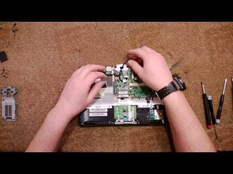Как разобрать Нетбук Asus EEE PC T101MT (Asus EEE PC T101MT disassembly. How to replace HDD, RAM)