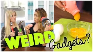 Testing Weird Kitchen Gadgets feat. iJustine