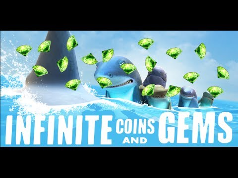 Infinite Coins And Gems- Hungry Shark Evolution