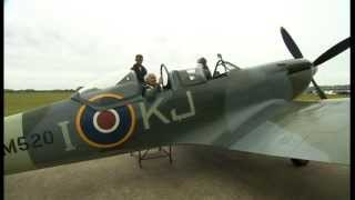 Veteran flies Spitfire for first time since WWII