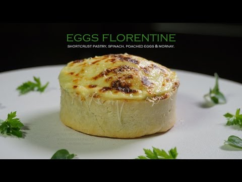 Eggs Florentine – Bruno Albouze – THE REAL DEAL