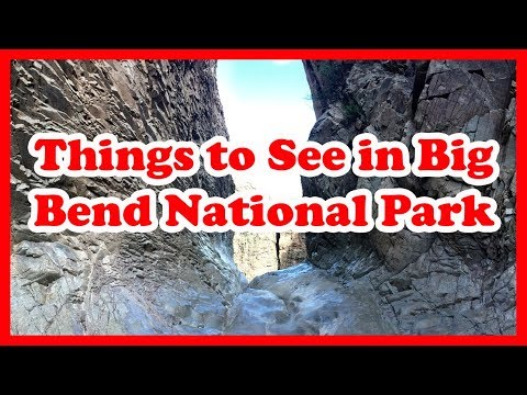 5 Cool Things to See in Big Bend National Park, Texas | US Travel Guide