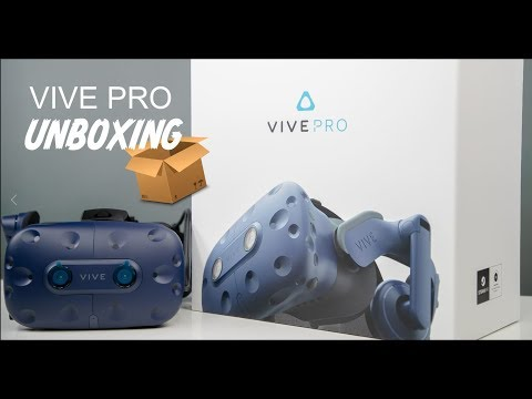 HTC Vive Pro Unboxing and Comparison