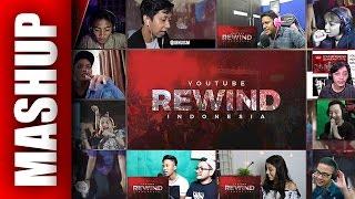 Youtube Rewind INDONESIA 2016 Reactions Mashup