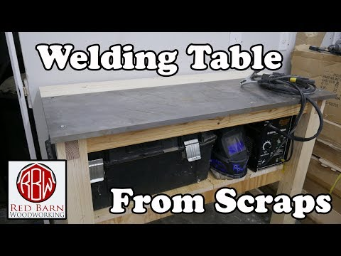 Free Welding Table From Scraps