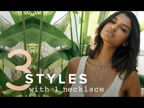3 Styles with 1 Expandable Necklace