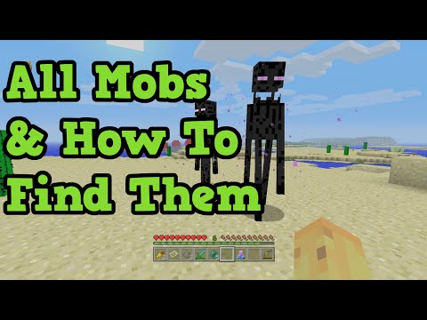 Minecraft All Mobs & How To Find Them