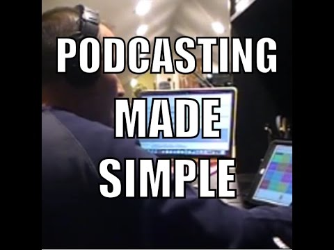 Podcasting Made Simple - The Complete Setup (Podcast Tutorial with Phone Interview Recording)