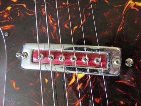 Vintage Japanese Guitar Pickup Shootout (EPISODE 1)