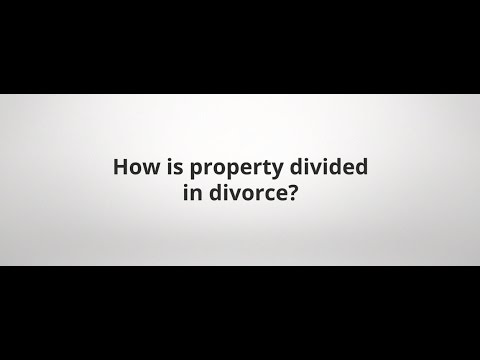 How is property divided in divorce? | Medina, Ohio