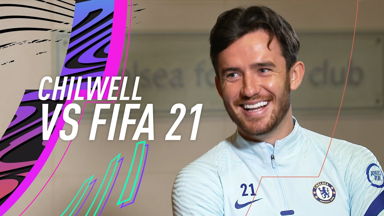 Chilwell mocks Ziyech's small legs! 😂   Ben Chilwell vs FIFA 21