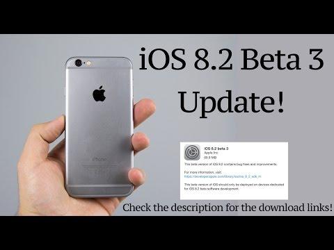 iOS 8.2 Beta 3 : Update!