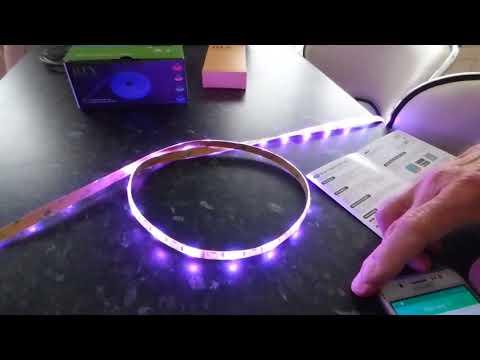 ILux app driven strip lights