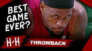 LeBron James GREATEST Game EVER? Full Game 6 Highlights vs Celtics (2012 Playoffs) - 45 Pts, 15 Reb!
