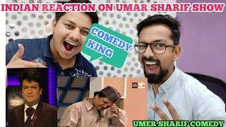 Indian Reaction on Umer Sharif Best Stage Show