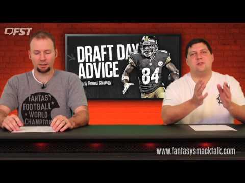2017 Fantasy Football Early Round Draft Strategy