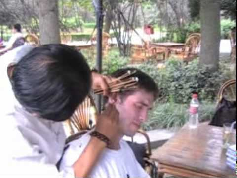 Chinese Ear Cleaning