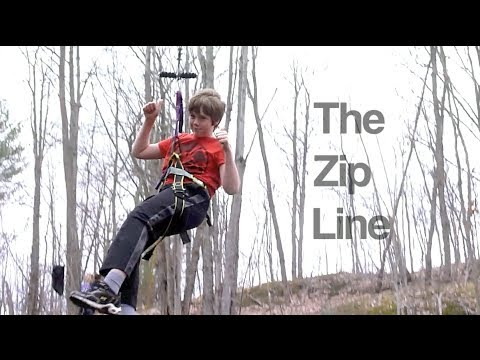 How to make a zip line.