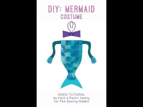 DIY: Easy Mermaid Costume Tutorial