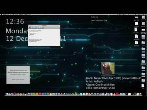 How to set a video as desktop wallpaper (MAC OSX)