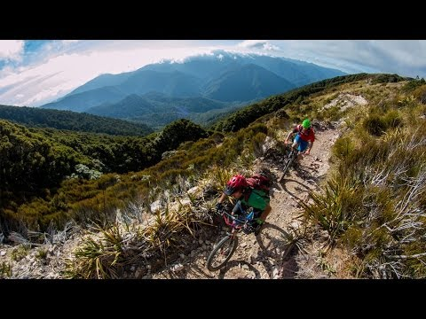 Epic mountain bike tours of New Zealand (full length)