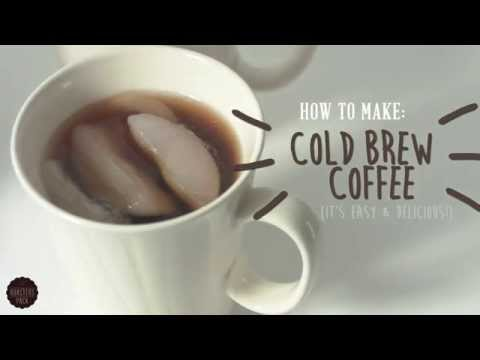 How to Cold Brew Coffee with the Hario Mizudashi Cold Brewer!