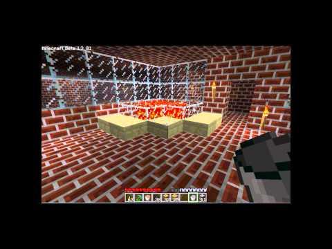 Minecraft Tutorial :  Using Lava in a Furnace