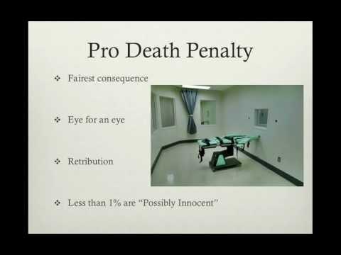 Death Penalty Final Presentation