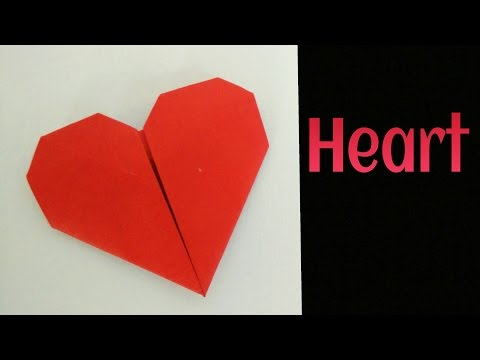 Pocket Heart 💞 Easy DIY Origami Tutorial by Paper Folds ❤️
