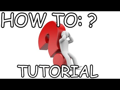 How to PRESS the QUESTION MARK key on your keyboard? -Tutorial-