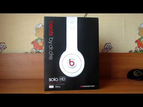 Fake Beats™ by Dr. Dre™ Solo HD (White) Unboxing