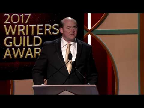 David Koechner presents the 2017 WGA Award for Original Short Form New Media to The Commute writers
