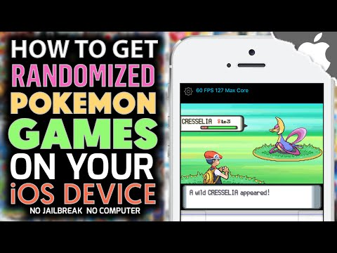 How to Get Randomized NDS Pokemon Games on your iOS Device! (NO COMPUTER) (NO JAILBREAK)